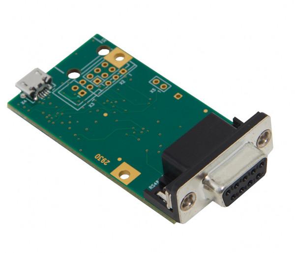 gpio.u.RS485 mit DSUB- Buchse und Wannenstiftleiste