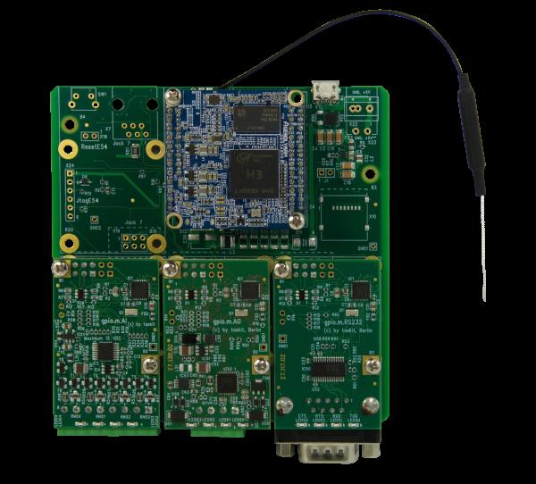 Starterkit gpio.base54 NanoPi Wifi